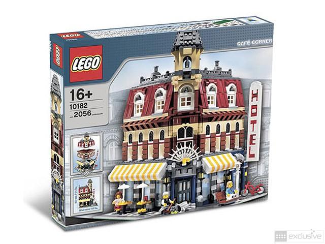 LEGO® Hotel (Café Corner) 10182 - BRICKexclusive LEGO®