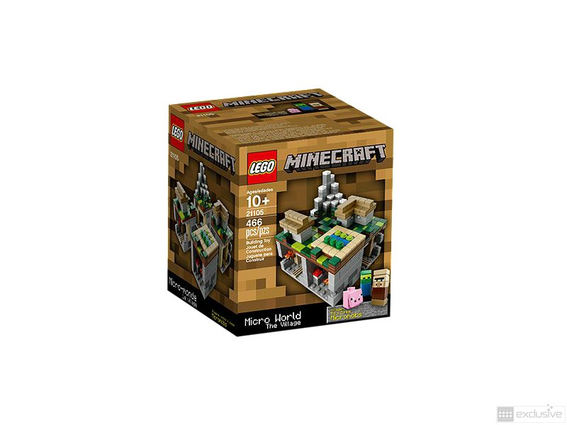 LEGO Cuusoo Minecraft The Village 21105 box