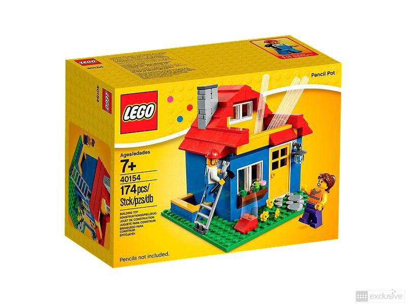 Lego pennenbakje huis 40154 brickexclusive lego - Afneembaar huis ...