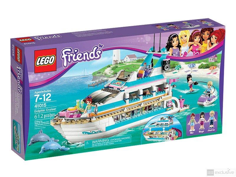 LEGO Friends Dolfijn Cruiser 41015 doos