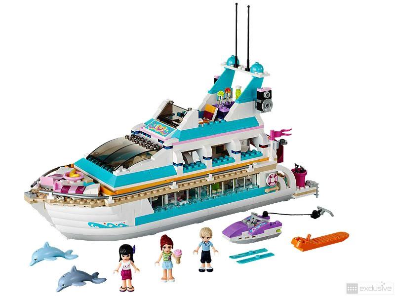 LEGO Friends Dolfijn Cruiser 41015 compleet