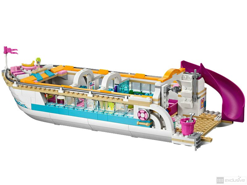 LEGO Friends Dolfijn Cruiser 41015 onderkant