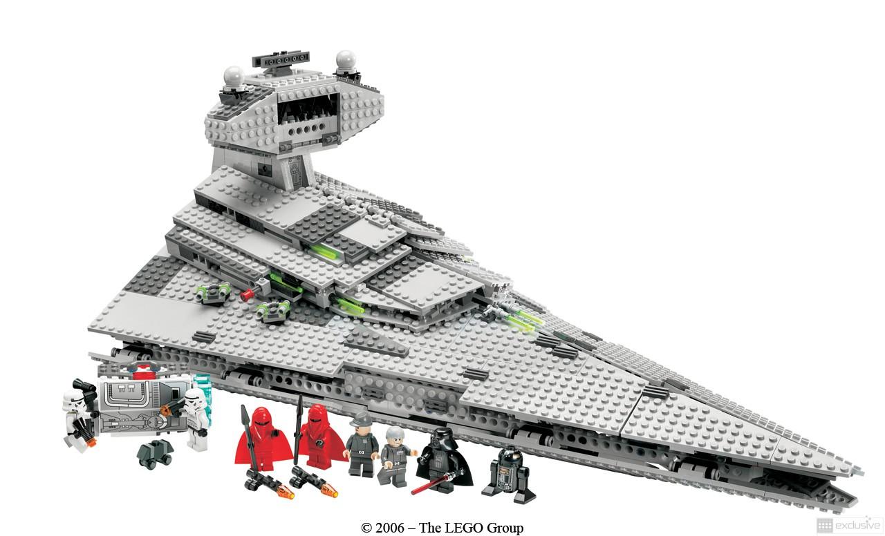 Lego star wars imperial star destroyer 6211 - Croiseur star wars lego ...