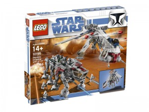 LEGO Star Wars Republic Dropship met AT-OT Walker 10195