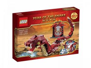 LEGO Jaar van de Slang Chinees 10250