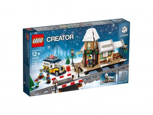 LEGO Winter Treinstation 10259