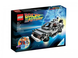 LEGO Cuusoo De DeLorean Tijdmachine 21103