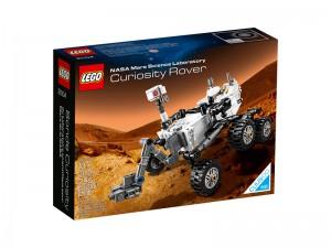LEGO Cuusoo Mars Science Laboratory Curiosity Rover 21104