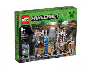 LEGO Minecraft De Mijn 21118