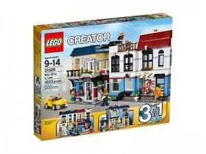 LEGO Creator Fietswinkel & Café 31026
