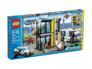 LEGO City Bank en Geldtransport 3661