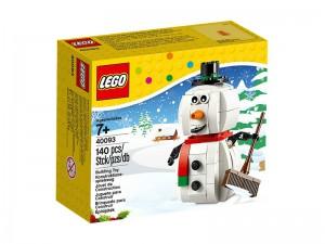 Lego Winter Sneeuwpop 40093