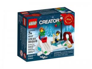 LEGO Winter Schaatsscène 40107