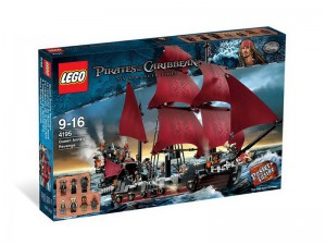LEGO Pirates of the Caribbean De wraak van Koningin Anne 4195
