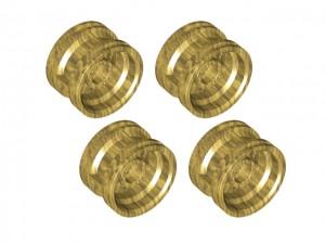 LEGO gouden velgen 4 stuks