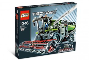 LEGO Technic Maaidorsmachine (Combine Harvester) 8274