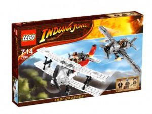 LEGO Indiana Jones Gevechtsvliegtuig aanval 7198