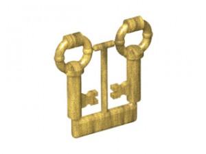 LEGO Set van 2 antieke sleutels (goud)
