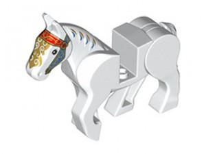 LEGO Paard (wit)