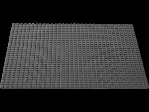 LEGO Grote Grondplaat 32x32 (donkergrijs)