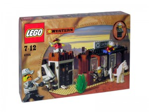 LEGO Western Sheriff Kantoor en Cel 6764
