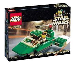 LEGO Star Wars Flash Speeder 7124