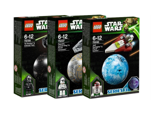 LEGO Star Wars Serie 3 Collectie 75006 75007 75008