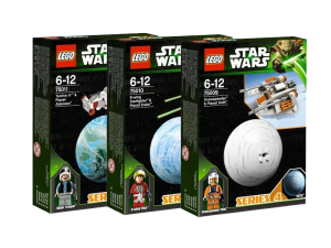 LEGO Star Wars Serie 4 Collectie 75009 75010 75011