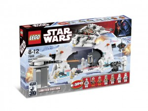 LEGO Star Wars Hoth Rebellen Basis 7666