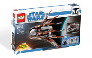 LEGO Star Wars Count Dooku's Solar Sailer 7752