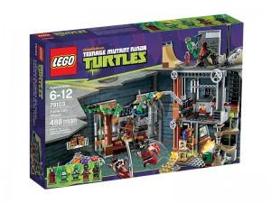 LEGO Ninja Turtles Aanval op het Turtle Hoofdkwartier 79103