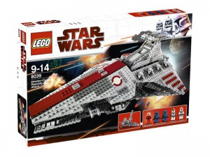 LEGO Star Wars Venator-class Republic Attack Cruiser 8039
