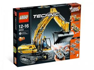 LEGO Technic Gemotoriseerde Graafmachine 8043