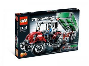 LEGO Technic Tractor met aanhanger 8063