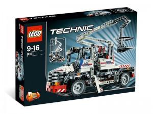 LEGO Technic Hoogwerker truck 8071