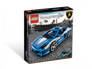 LEGO Racers Lamborghini Gallardo LP 560-4 Polizia 8214
