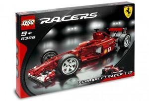 LEGO Racers Ferrari F1 Racewagen 1:10 8386