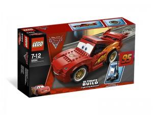 LEGO Cars Bliksem McQueen Ultiem bouwmodel 8484