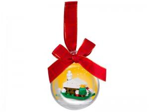 LEGO Kerstbal met Sneeuwhuisje 850949