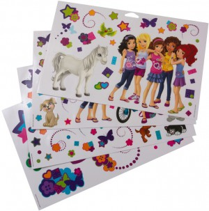 LEGO Friends Muurstickers