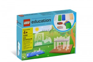LEGO Education Kleine Bouwplaten/Grondplaten set 9388