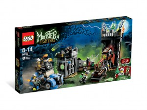 LEGO Monster Fighters De Gekke Professor 9466