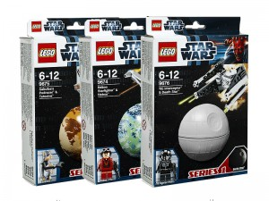 LEGO Star Wars Serie 1 Collectie 9674 9675 9676