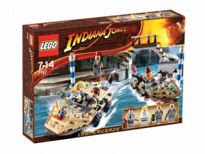 LEGO Indiana Jones Achtervolging in Venetië 7197