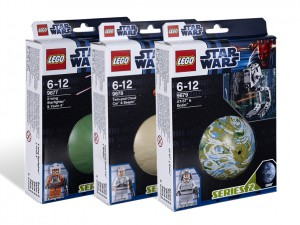 LEGO Star Wars Serie 2 Collectie 9677 9678 9679