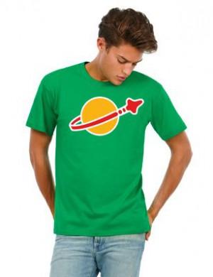 LEGO T-shirt Classic Space groen