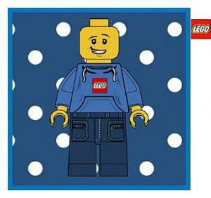 LEGO Kussen Minifiguur 45 x 45