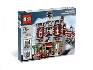 LEGO Brandweerkazerne 10197