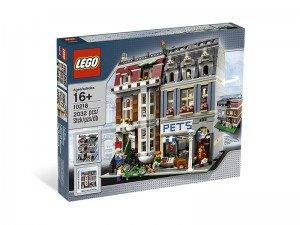 LEGO Dierenwinkel (Pet Shop) 10218
