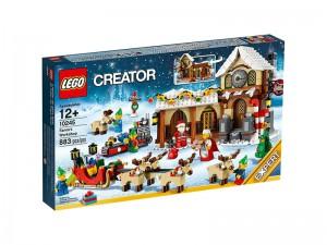 LEGO Winter Werkplaats van de Kerstman 10245